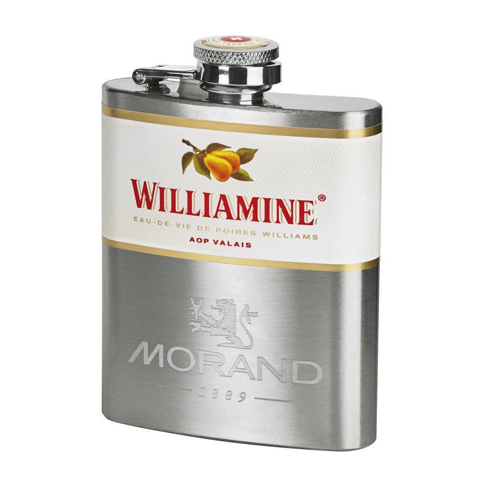 WILLIAMINE 43% METAL FLASK 10CL