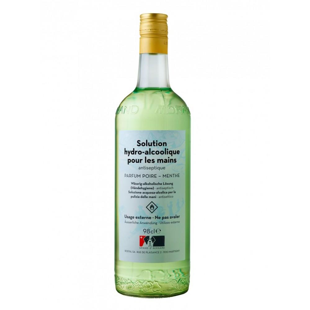SOLUTION HYDRO-ALCOOLIQUE POUR LES MAINS