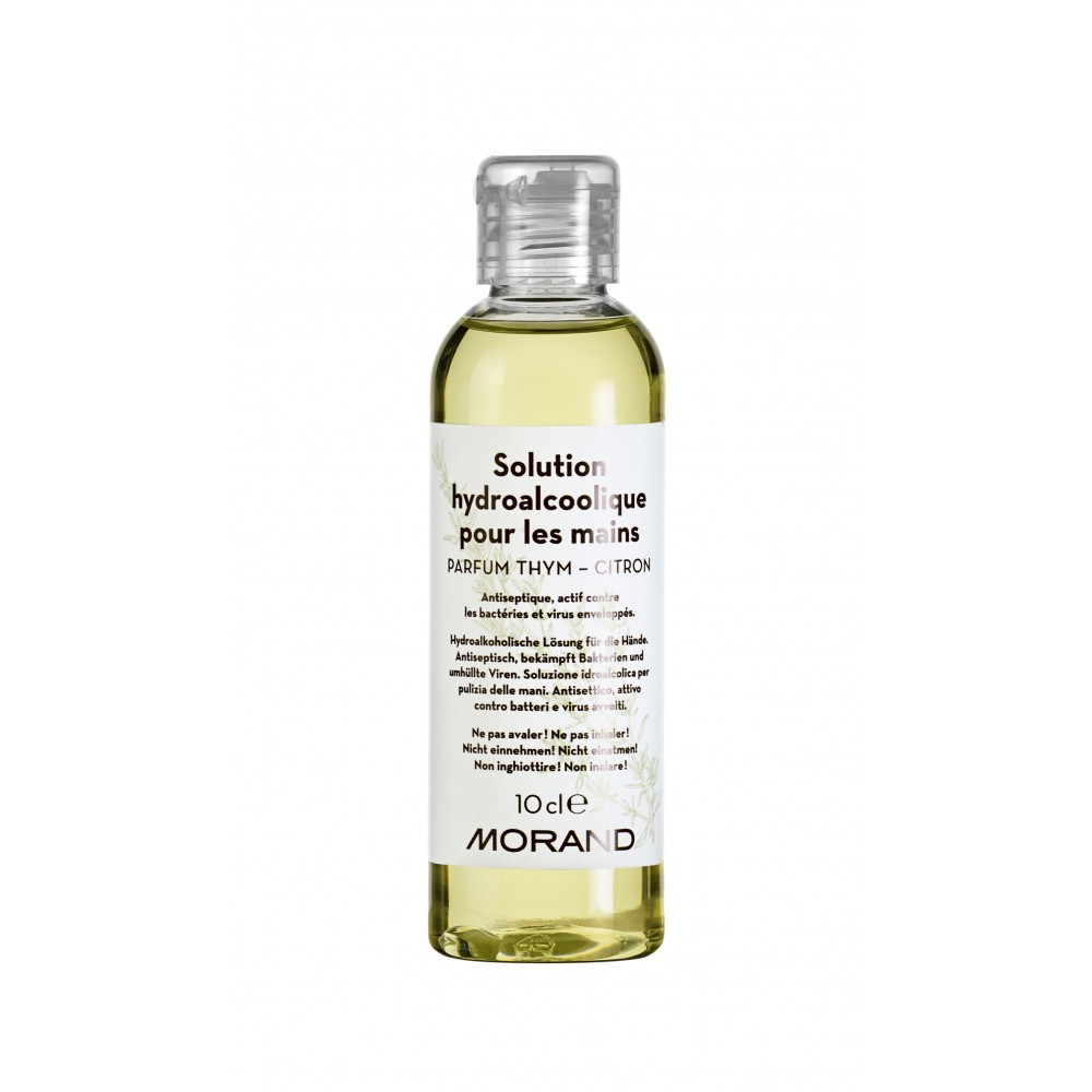 HYDRO-ALCOHOLIC HAND SOLUTION THYME AND LEMON, POCKET SIZE