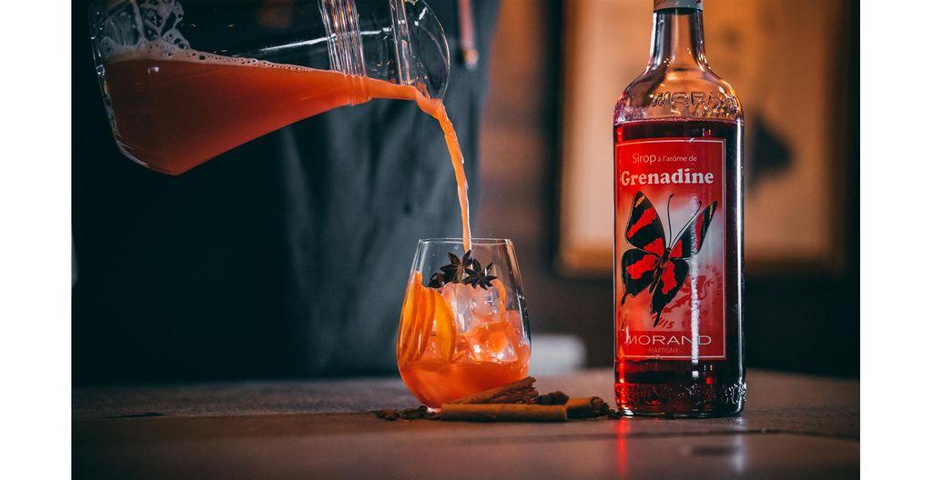Recette cocktail Sirop Grenadine