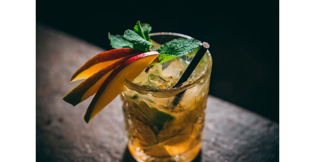 Recette cocktail Sirop Mangue