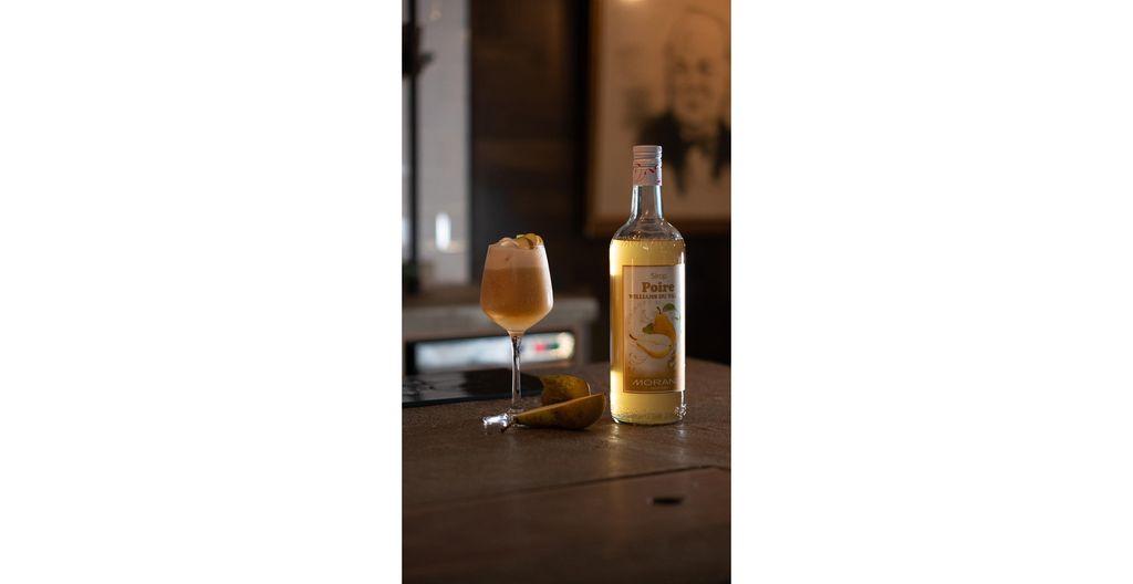 Recette cocktail Sirop de Poire Williams